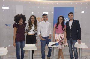 Ispanijos finalo dalyviai (TVE nuotr.)