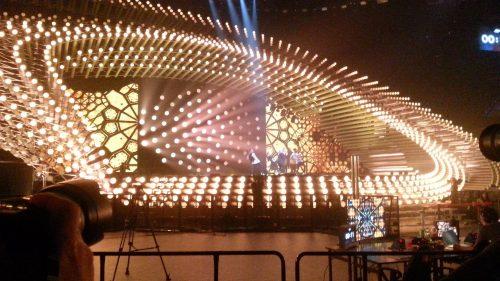 """""""Eurovizijos"""" pusfinalio repeticija. E. Balčiūnas."""