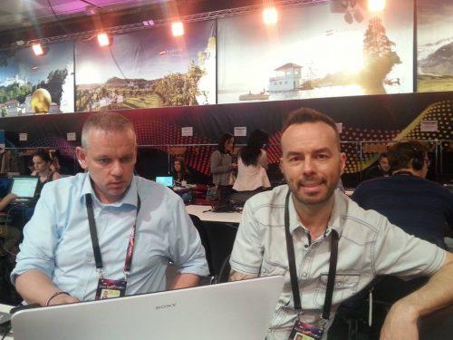 Alain (dešinėje) iš Prancūzijos.