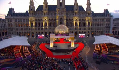 """""""Eurovizijos"""" atidarymas.  ORF/Eurovision.tv"""