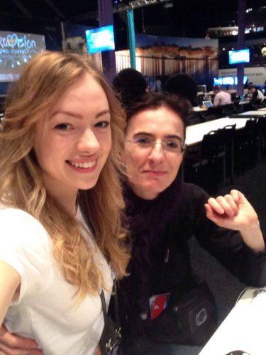 """Radio Sonata"" (Italija) žurnalistė Elisabetta. ""Eurodienos"" nuotr."