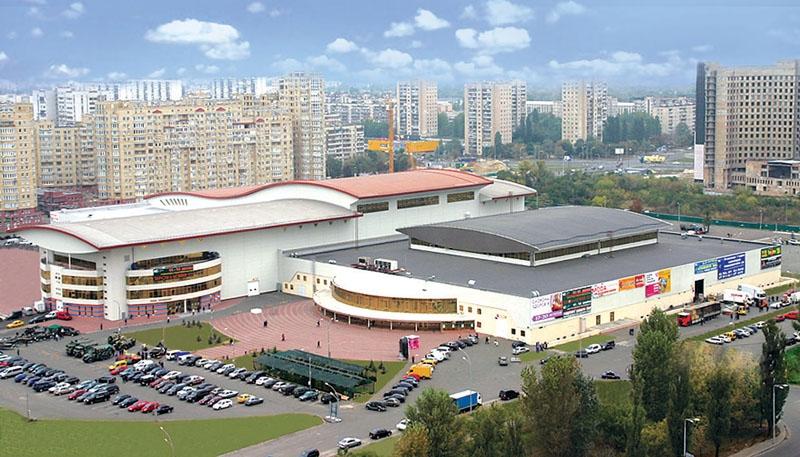 Tarptautinis Parodų Centras Kijeve / NTU nuotr.