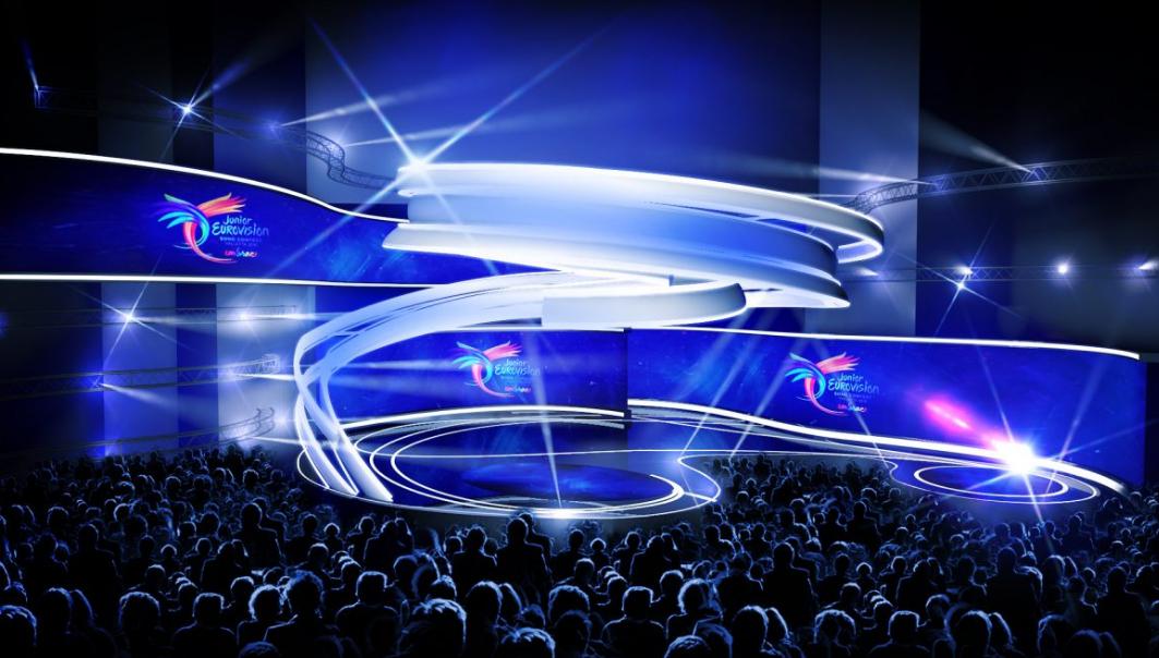 """""""Vaikų Eurovizijos 2016"""" scena"""