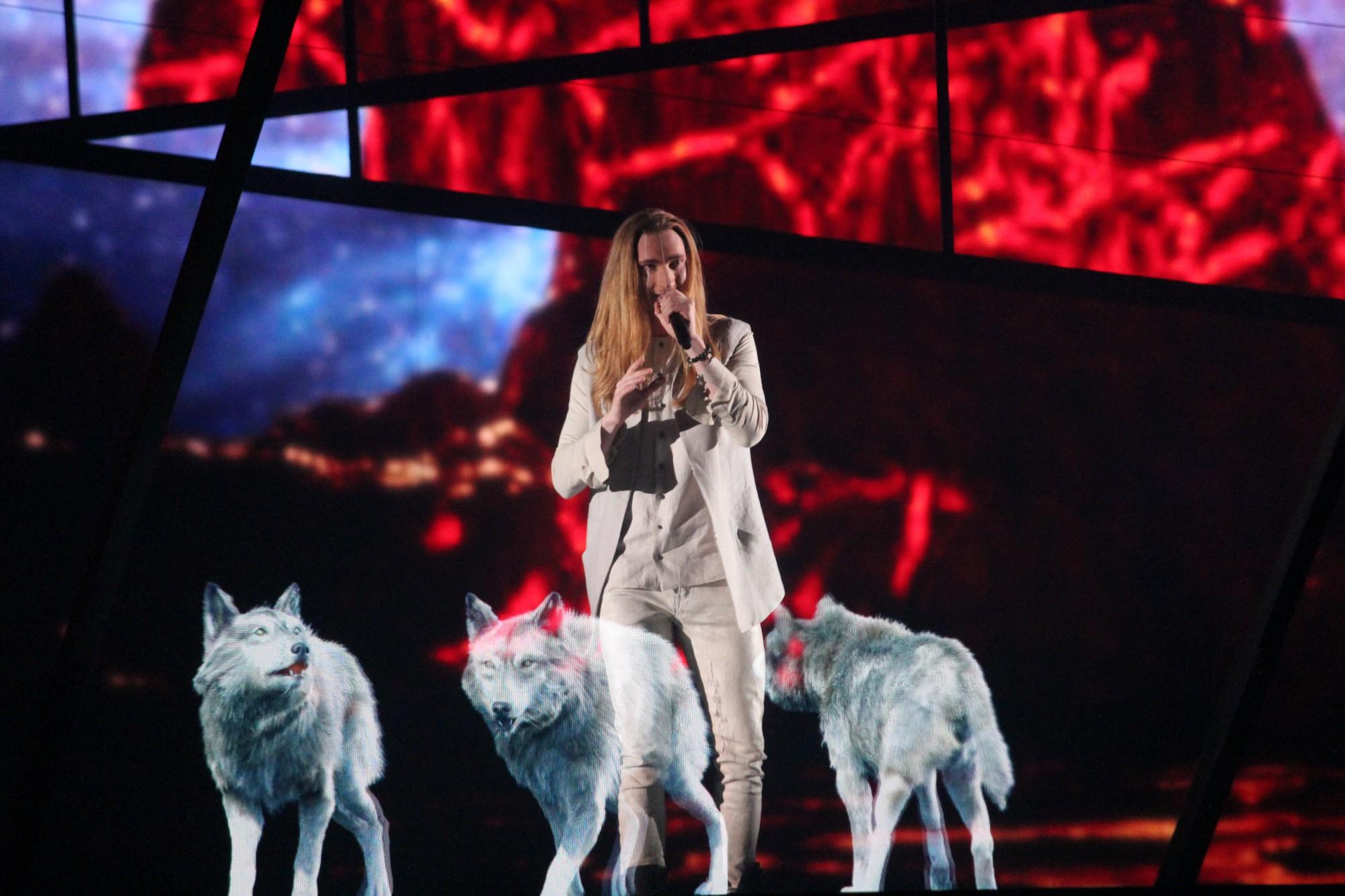 """IVAN 2016 metų """"Eurovizijoje"""" / EBU nuotr."""