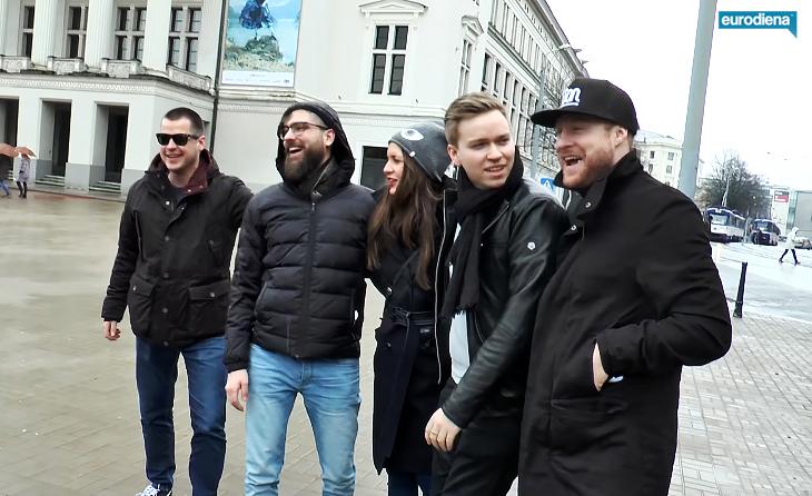 Čekijos ir Norvegijos atstovai tyrinėjo Rygos gatves